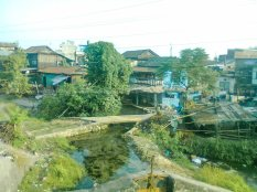 Water bodies serving as a micro climatic factors