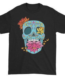 Flowered Skull TShirt