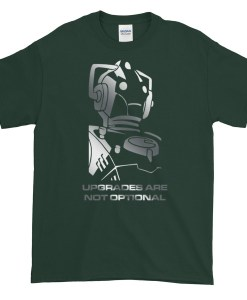 Upgrades Are Not Optional Cyberman TShirt