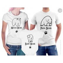 c6f38130 Papa Bear Fathers Day Family T Shirt Set Betty Bramble · Papa Bear T-Shirt  Ideas · Papa Bear T-Shirt Ideas · Bear Papa Bear and Baby Matching Shirts