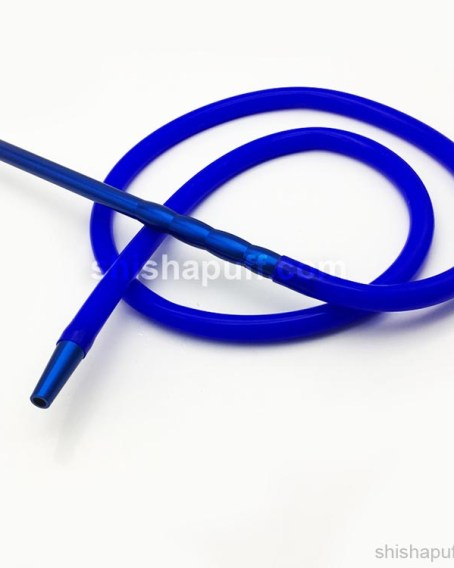 silicone hose blue shisha pipe hookah