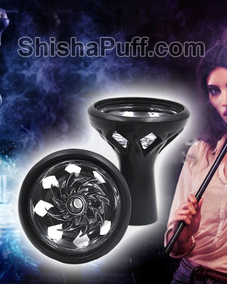 Head Glass Silicone Bowl Shisha Hookah