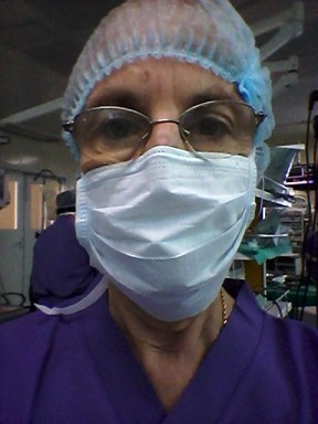"Back in ""scrubs"" after many years"