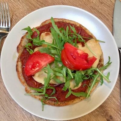 Paleo pizza vegan en glutenvrij