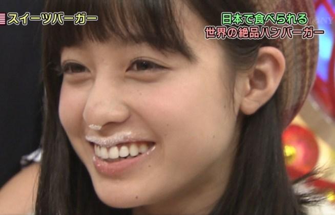 橋本環奈の食事舌 (7)
