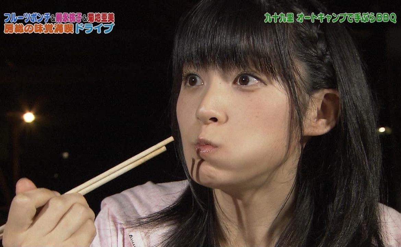 嗣永桃子の食事舌 (6)