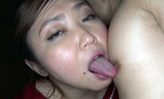 有奈めぐみの汚舌堪能プレイ (3)