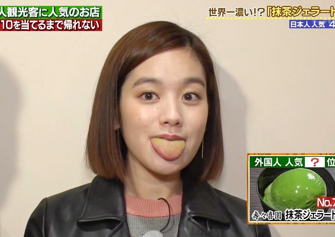 筧美和子の汚舌出し (2)
