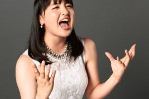 鈴木瑛美子の開口舌見せ