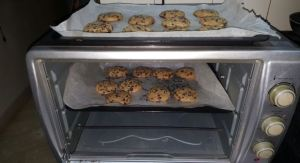 baking of Chocolate Chip Cookies