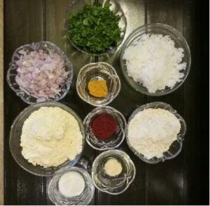 ingredients for bhajiya