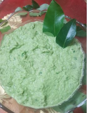 Curry Leaves Chutney!! The Super Condiment