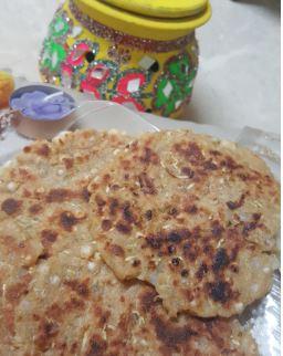 Rajgira Sago Thalipeeth!! Navratri Upvas Food