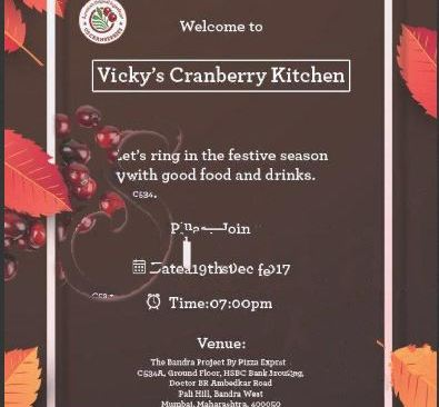 Cranberry Galore In Vicky S Kitchen