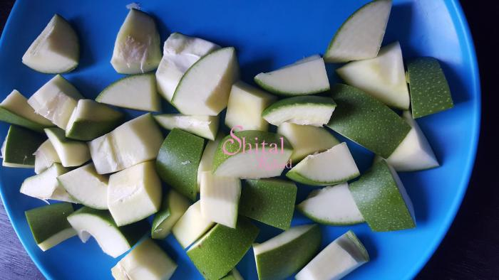 Cutted Mangoes
