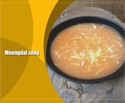 Moongdal Soup !! Yellow Lentil Healthy Soup
