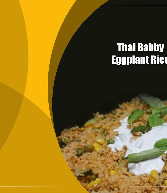 Thai Baby Eggplant Rice!! A Quick Weekend Recipe