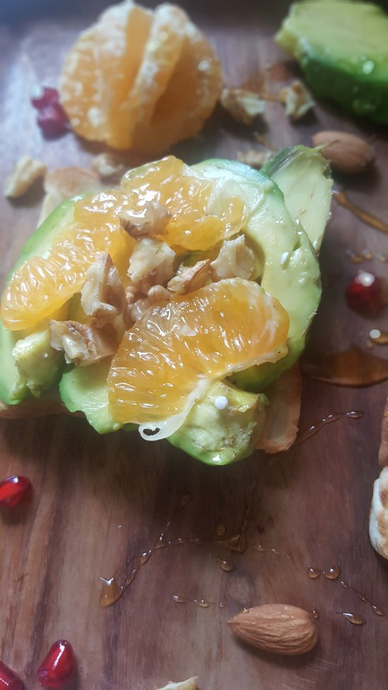 Making of Avocade Toast