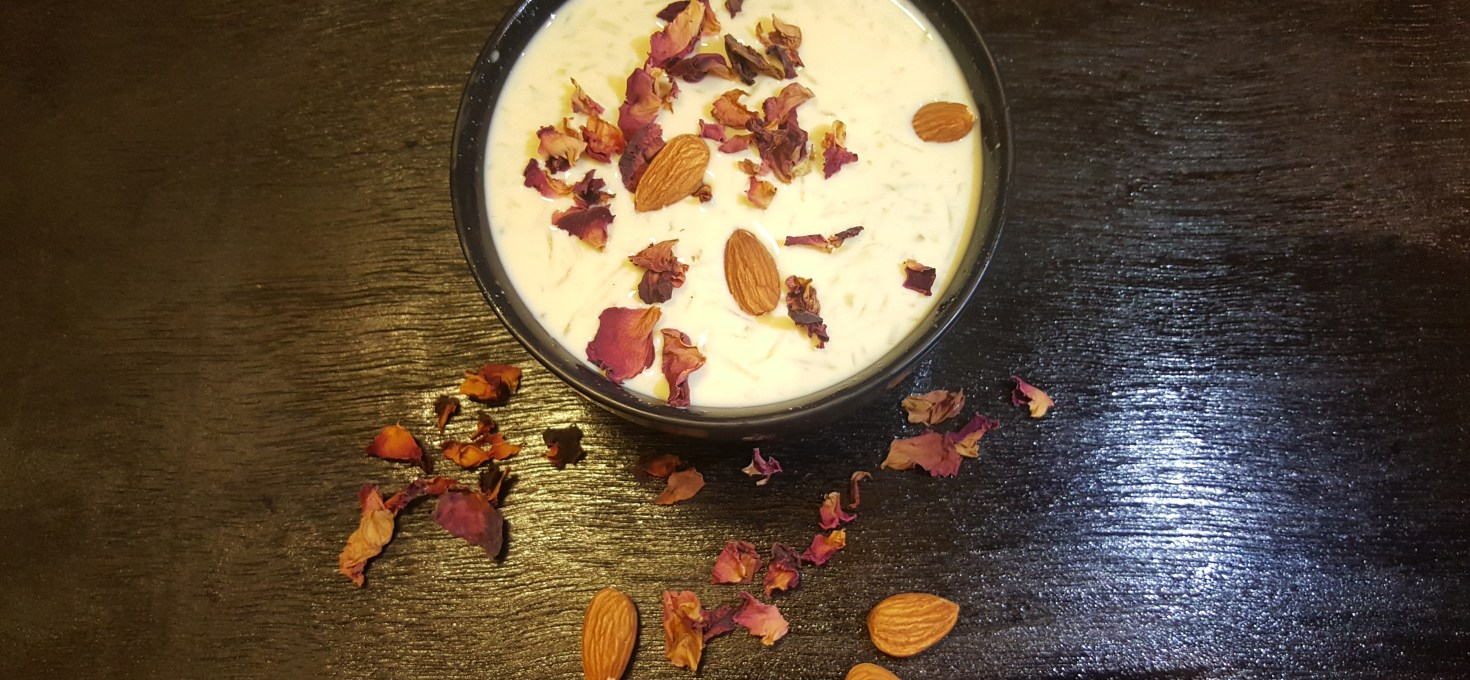 Gulab Dudhi Kheer !! A Fasting Food Delight