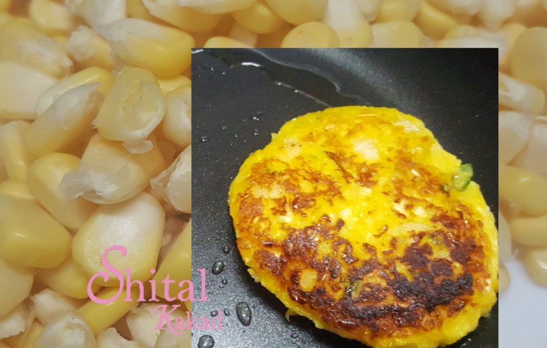 Sweet Corn Cakes!! A Healthy Appetizer