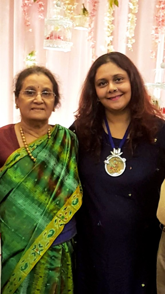 Shital Kakad with my Mother - Mothers Day Special