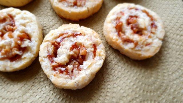 Strawberry Walnut Swirls Recipes