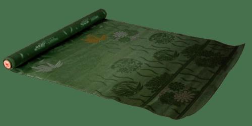丸帯の仕立て前の写真画像