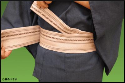 帯の結び部分の解説
