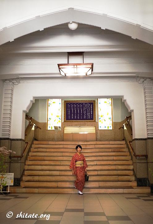 京都市役所・階段
