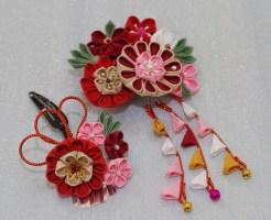 七五三、成人式の手作りの髪飾りの作り方