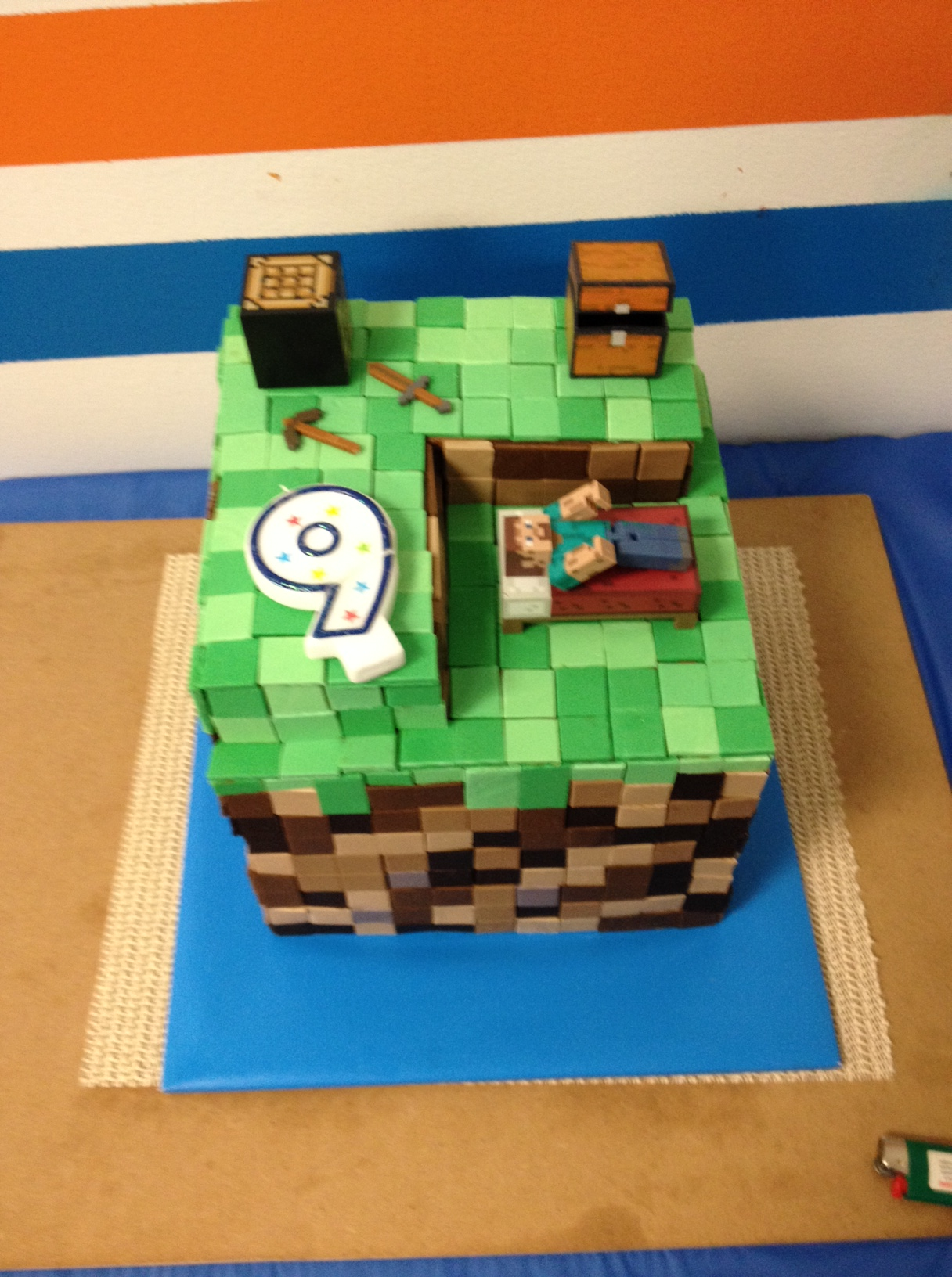 9 Year Old Minecraft Birthday Party Finally Sh T My 14