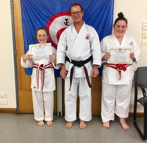 kids karate grading june 2017