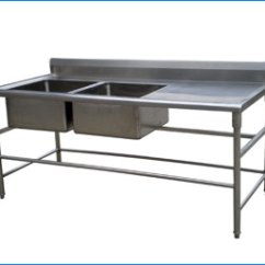 Commercial Kitchen Sink Best Countertops For Water Stainless Chimney Industrial Steel Ludhiana Punjab India