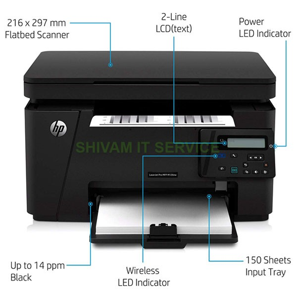 hp laserjet pro m126nw printer 2