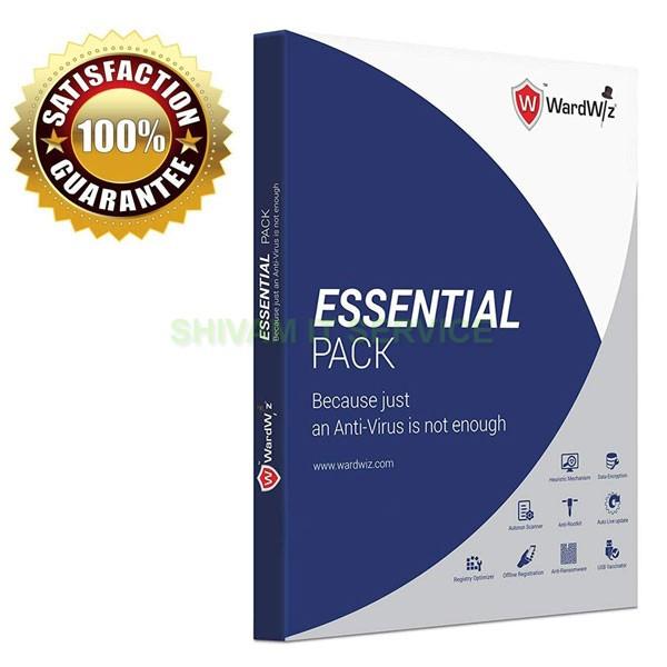 wardwiz essential pack antivirus 2
