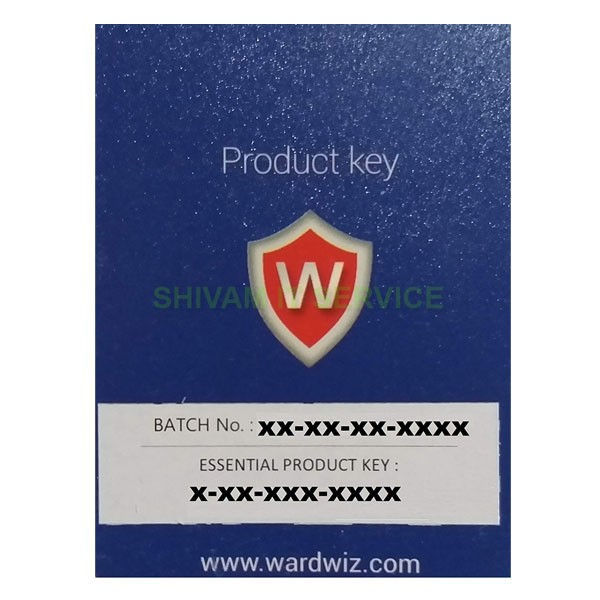 WardWiz Essential Pack Antivirus 1 PC, 1 Year antivirus