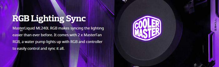 Cooler master master liquid ml240l 7