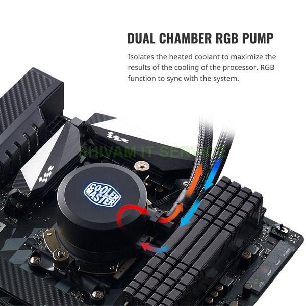 cooler master ml120l rgb cpu liquid cooler 5