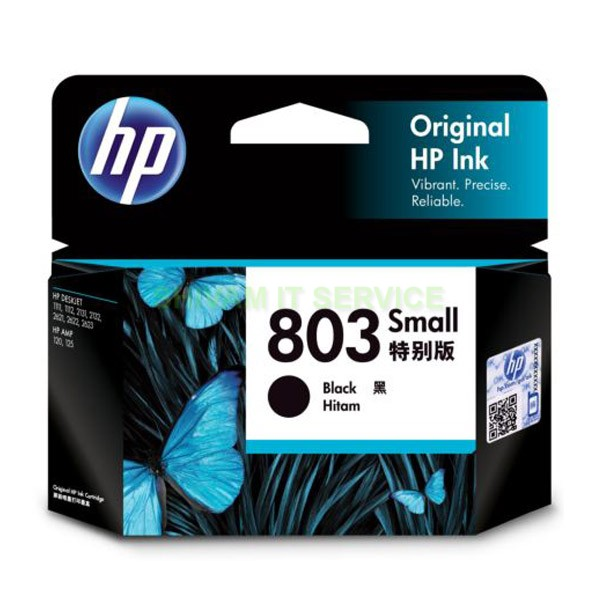 hp 803 small black cartridge