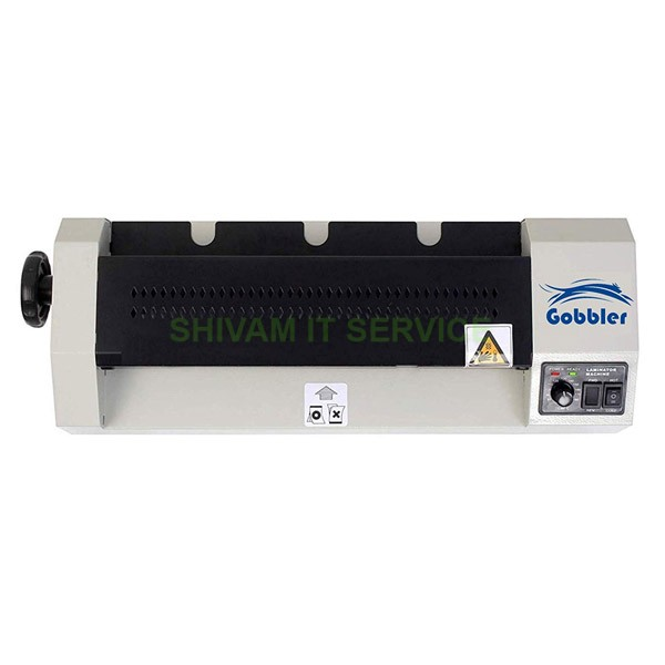 gobbler laminator machine 330 a3 2