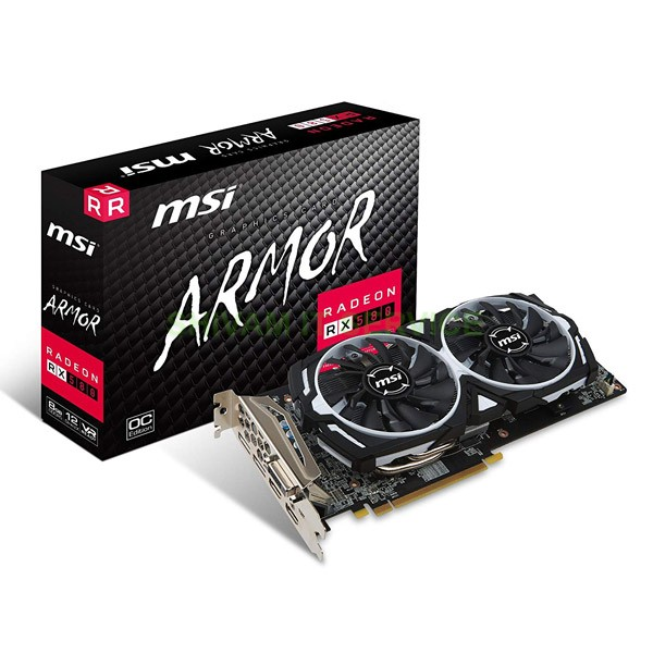 msi rx 580 armor oc 8gb graphic card 1