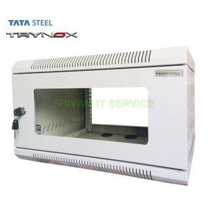 TATA Trynox 6U/600X500 Wall Mount Networking/DVR Rack