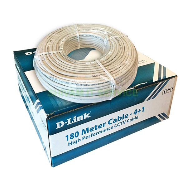 dlink cctv cable 180mtr 2