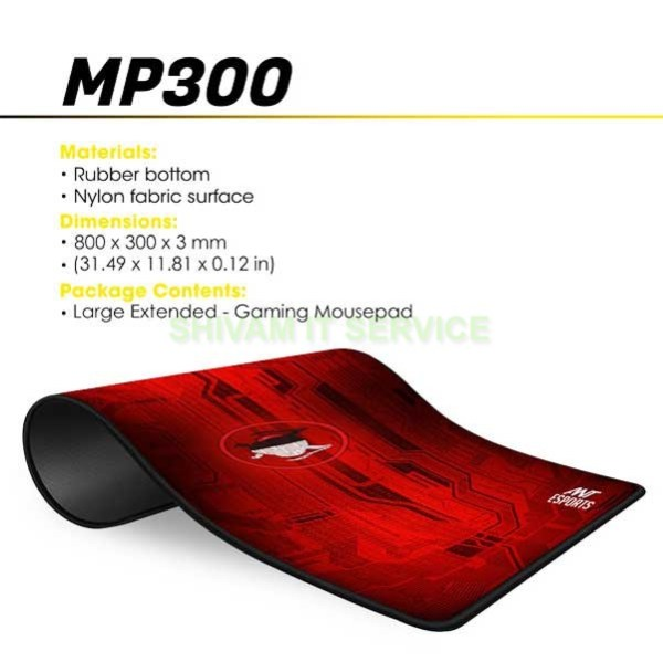 ant esports mp300 gaming mouse pad 3