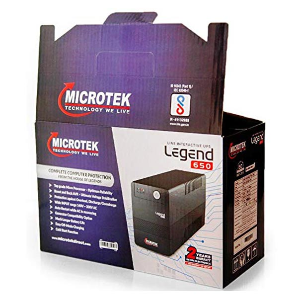 microtek legend 650 ups 3