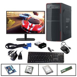Intel Core 2 Duo CPU 4GB RAM 500GB HDD Wifi Assembled Desktop PC