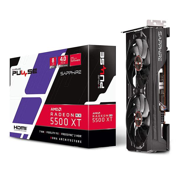 Sapphire Pulse Radeon RX5500XT 8GB DDR6