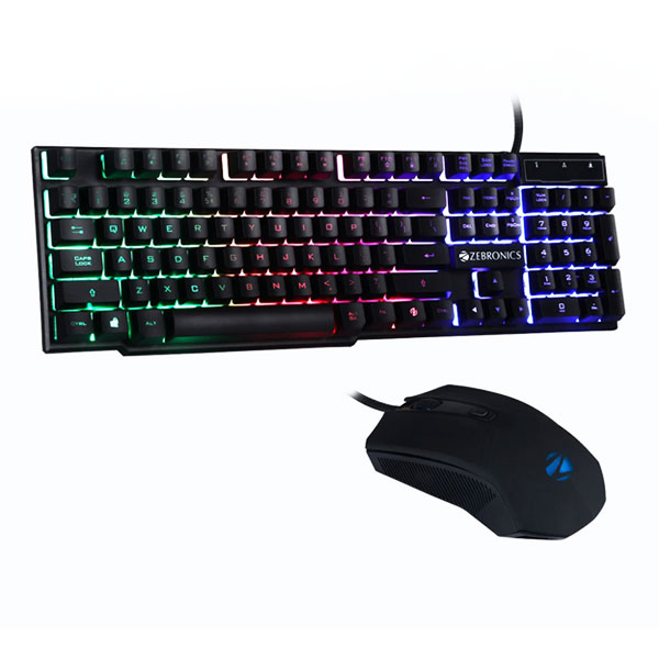 zebronics zeb fighter gaming keyboard mouse combo 1