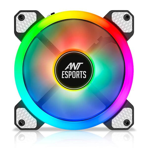 Ant Esports Superflow 120 Auto RGB V2 Case Fan/Cooler
