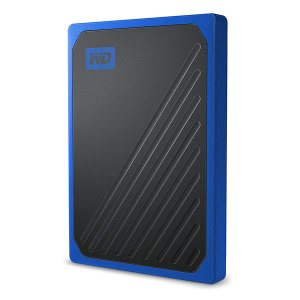 WD 500GB My Passport Go Cobalt SSD